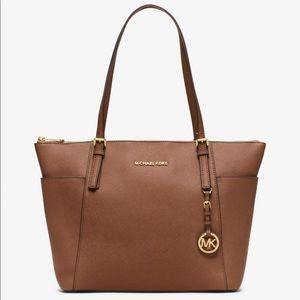 MICHAEL Michael Kors Bags - MICHAEL Michael Kors Jetset Saffiano Leather Bag